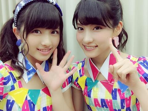 【AKB48】大和田南那と谷口めぐはライバル関係という認識であってる?