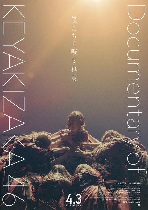 【欅坂46】ドキュメンタリー映画予告公開、平手友梨奈さんの神格化は変わらず