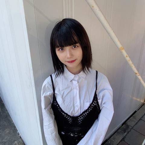 【元SKE48】小畑優奈ちゃん、黒髪に戻して味噌ヲタが好きそうな清楚美少女になる