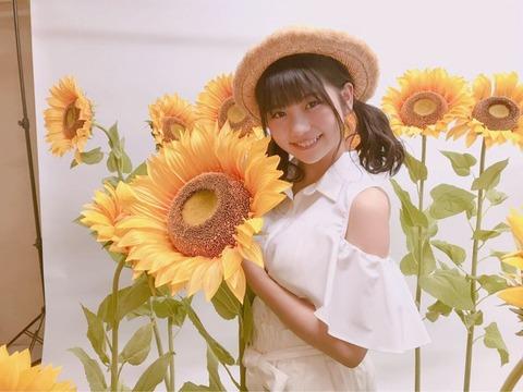 【AKB48G】夏の日の午後にバス停で白いワンピースに麦わら帽子でひまわり持って立ってそうなメンバー
