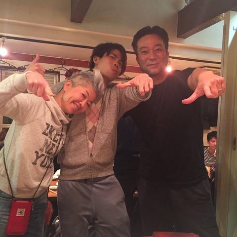 戸賀崎が疑惑を否定「この写真で沸いてるらしいと聞きました。みんな振り回されすぎだよ。」