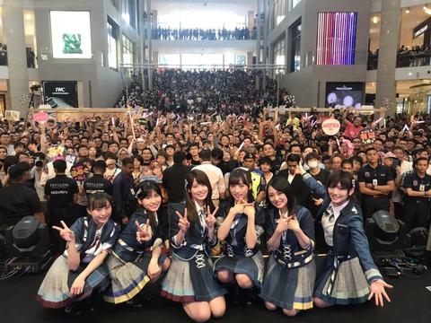 【朗報】AKB48がマレーシアで人気大爆発!!!