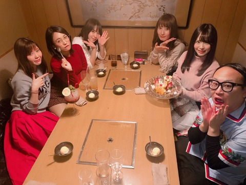 【SKE48】松村香織さんのお誕生日会に男が紛れ込む
