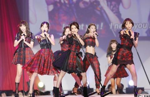 【元AKB48】前田敦子、大島優子、篠田麻里子、秋元才加がやっぱりかっこいい