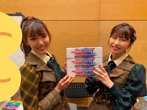 【AKB48】Mステティッシュを貰って、嬉しそうなチーム8メンバーをご覧下さい