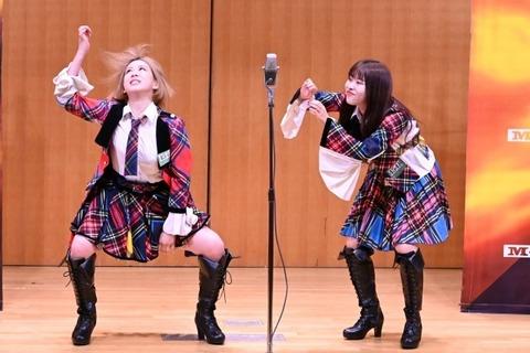 【AKB48】大家志津香・中西智代梨組、「M-1」1回戦突破!