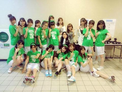 【AKB48】チームKのお台場出演メンバーが酷い・・・