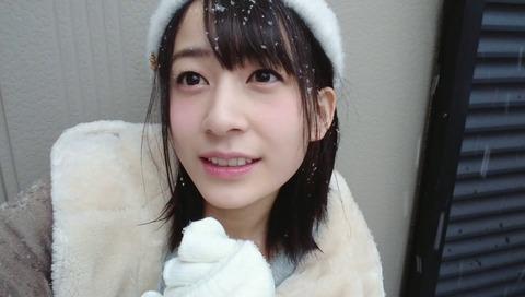 【AKB48】雪と戯れるゆかるんが超絶可愛い件【佐々木優佳里】
