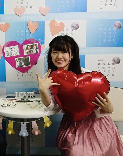 【AKB48】武藤小麟「(柏木由紀プロデュース公演で)私の名前が呼ばれることはありませんでした」