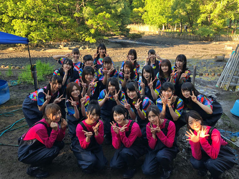 【AKB48】「テレ東音楽祭2018」は「池の水ぜんぶ抜く大作戦」とコラボ!泥コラボ選抜メンバーはこちら
