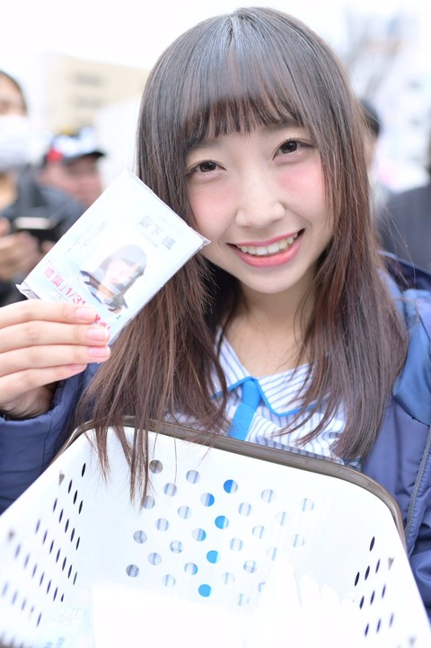 【STU48】薮下楓の目の下余白広すぎ問題について