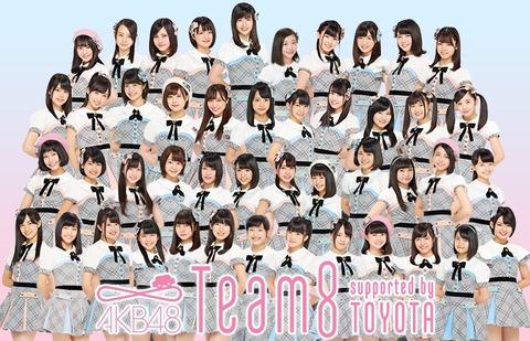 【AKB48】チーム8に村外でも通用するメンバーいなくね?