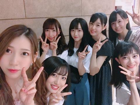 【AKB48】みーおんがSTU48のメンバーと夢の国で偶然遭遇【向井地美音】