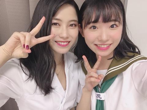 【AKB48】山内瑞葵、エロ先生ゆいはんの白衣の下の下着的な何かが写っている写真をアップ【横山由依】