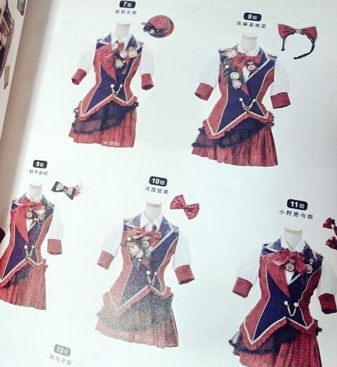 【朗報】AKB48衣装図鑑が一般からも高評価だと話題に!!!