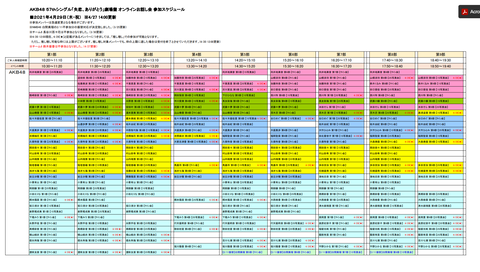 【AKB48】「失恋、ありがとう」劇場盤オンラインお話し会【4/28~30】
