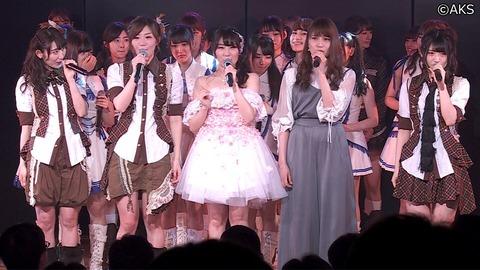 【AKB48】中田ちさとの卒業公演が無事終了
