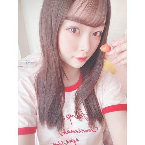 【AKB48】達家真姫宝さん、久々の空間歪曲!本日の被害者はさくらんぼ!