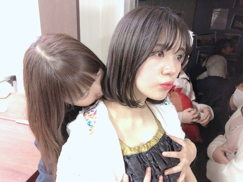 【HKT48】田中菜津美「最後に田中優香のおっぱい揉んできた」