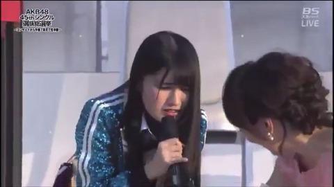 【HKT48】神志那結衣が二年連続でくだらないスピーチをやってなかったら・・・【総選挙】