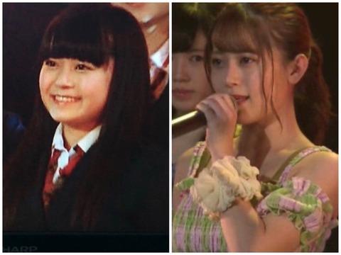 【HKT48】岩花詩乃の4年前と現在比べた写真がヤバいと話題にwww