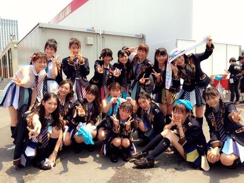 【HKT48】指原莉乃「TIF至上最高動員数だったそうです!!!」
