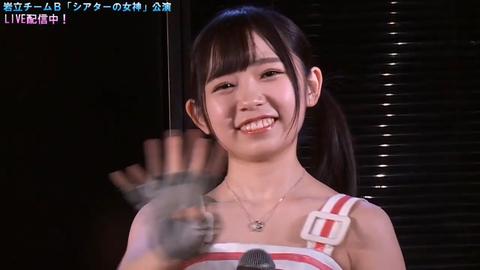 【AKB48】今回の公演無料配信で石綿星南ちゃんを見つけた奴多いだろ?