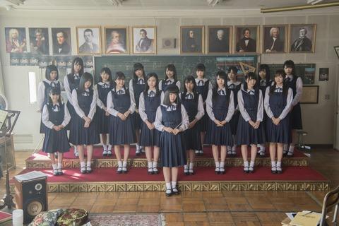 【HKT48】村重杏奈がチーム曲で後列の一番端に追いやられててワロタ
