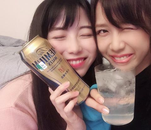 【AKB48】ゆいはん「一人で生配信の時はお酒は飲めません」「配信中に酔うと危ない」「横に世話してくれる人がいないと怖くて酔えない」【横山由依】