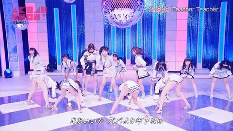 【画像】AKB48SHOWでが放送事故wwwwww