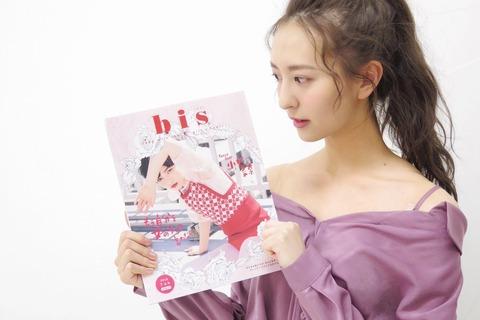 【HKT48】森保まどかが初の女性ファッション誌の撮影
