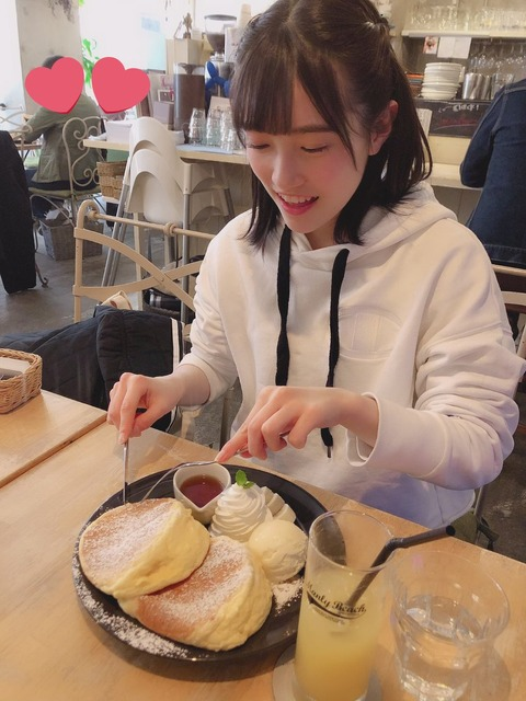 【HKT48】坂本愛玲菜の食欲が凄い!!!