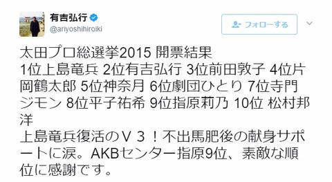 com【AKB48総選挙】「素敵な順位」っていう言葉に違和感があるんだけど