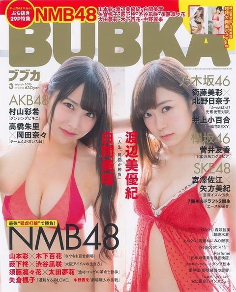 【NMB48】みるみるきー可愛すぎワロタw【白間美瑠・渡辺美優紀】
