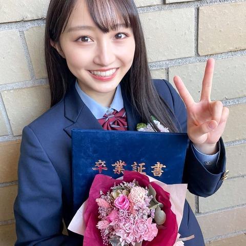 【NMB48】山本彩加が高校卒業を報告