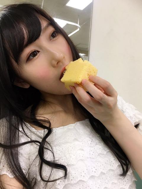 【NMB48】ふぅちゃんがカステラにかじりついてるさかい【矢倉楓子】