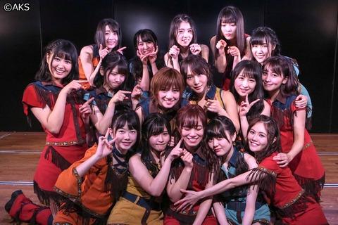 【AKB48G】劇場公演に入った時、主にどこを見てる?