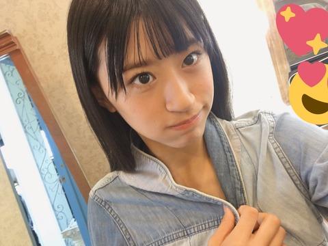 【朗報】NMB48上西怜がヤングアニマルで初ソロ表紙 !!!