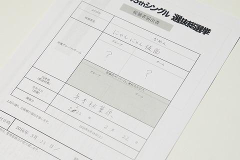 【AKB48総選挙】にゃんにゃん仮面、立候補「保留中」wwwww