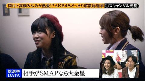 【めちゃイケ】HKT48指原莉乃はドッキリに気付いてた!