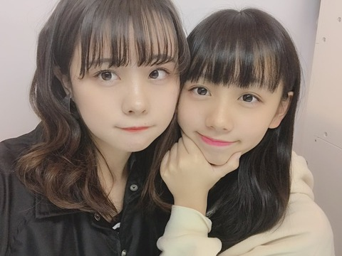 【AKB48G】姉と妹どっちがかわいいか最も意見が割れる姉妹www