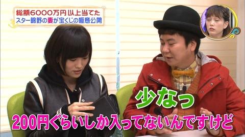 【貧報】さや姉の持ち金たったの200円【NMB48・山本彩】