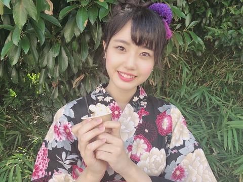 【STU48】瀧野由美子がグッズ買取ランキングでグループで2位にまで登りつめる