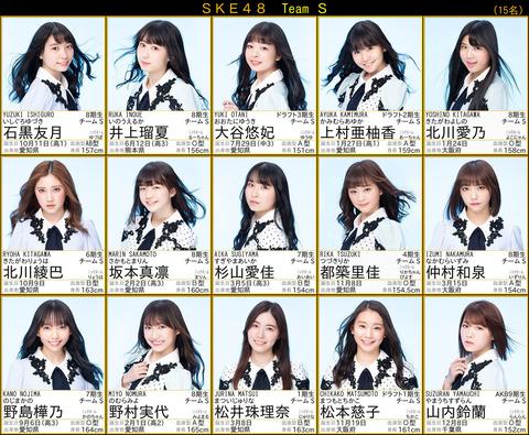 【SKE48】プロフィール写真が更新されたけど一番盛れてるのは誰だろう?