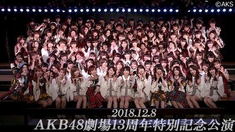 【AKB48】14周年記念公演(12/8)で起こりそうな事を予想するスレ