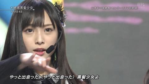「ベストヒット歌謡祭」yahooトレンドはNMB>欅坂>AKB、乃木坂は圏外
