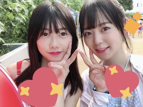 【AKB48】えりぃと怜ちゃんのプール画像きたあああ!!!【千葉恵里・西川怜】