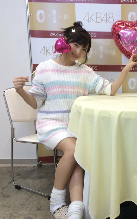 【AKB48】大島涼花ちゃんの時代遅れの臭そうなルーズソックスをクンカクンカしたい