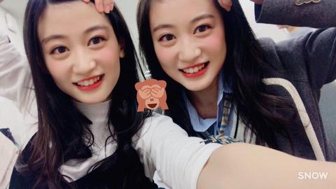 【AKB48G】お互い顔が似ているメンバーって誰かいる?
