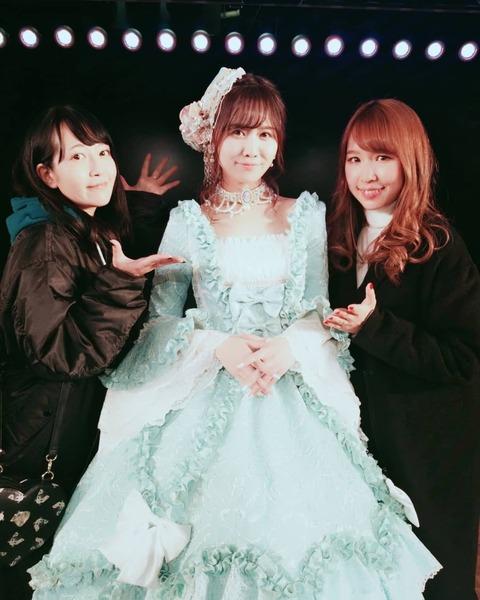 【朗報】SKE48佐藤すみれAKB48劇場ファイナル公演に「シュガー」が集結